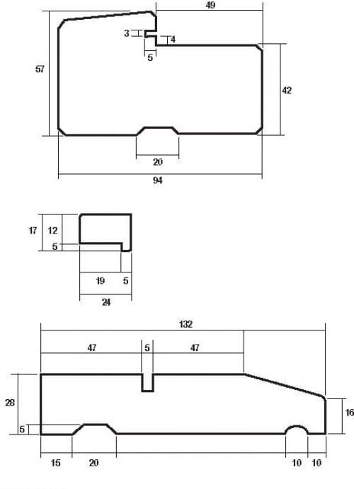 Hardwood Door Frame To Suit 78 X 33 Door Image