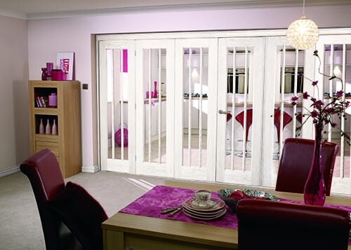 "Lincoln 6 Door Roomfold (3+3 X 27"" Doors) Image"
