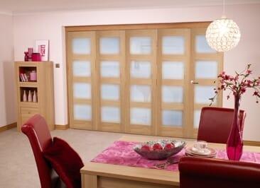 Oak Prefinished 4l Interior Bifold Door (5 X 2