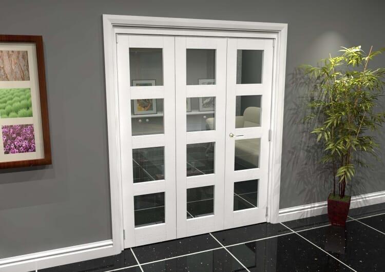 White 4l Roomfold Grande 1800mm (6ft) 2 + 1 Set Image