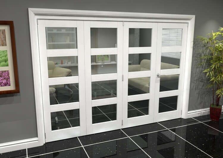 White 4l Roomfold Grande (3 + 1 X 686mm Doors) Image