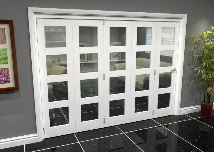 White 4l Roomfold Grande (5 + 0 X 533mm Doors) Image