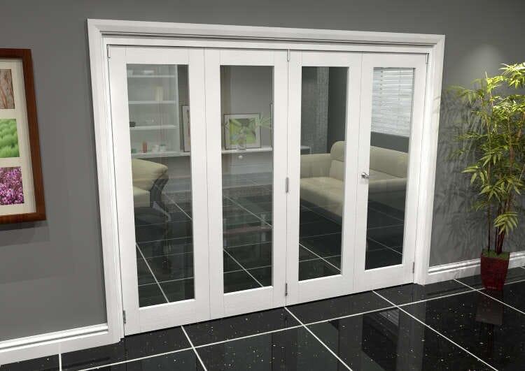 White P10 Roomfold Grande (3 + 1 X 610mm Doors) Image
